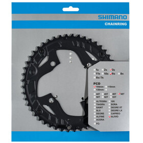 Shimano Alivio FC-T4010 Chain Ring 9-speed black